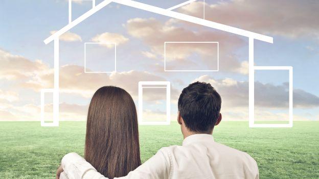 giovane coppia mutuo casa