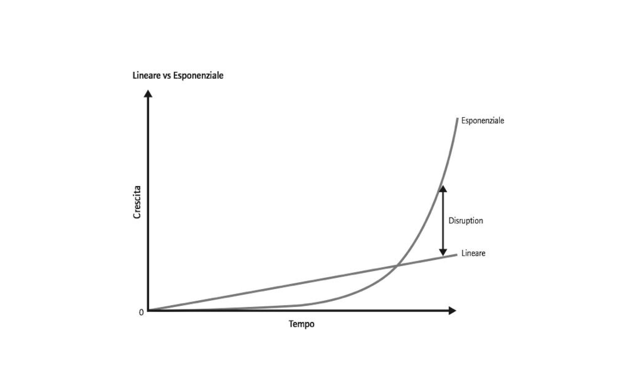 curva esponenziale