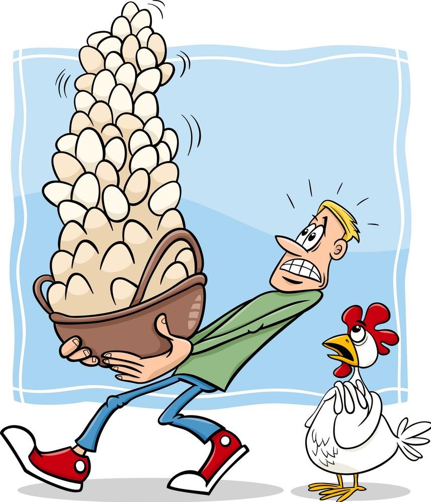 diversificare gli investimenti uova