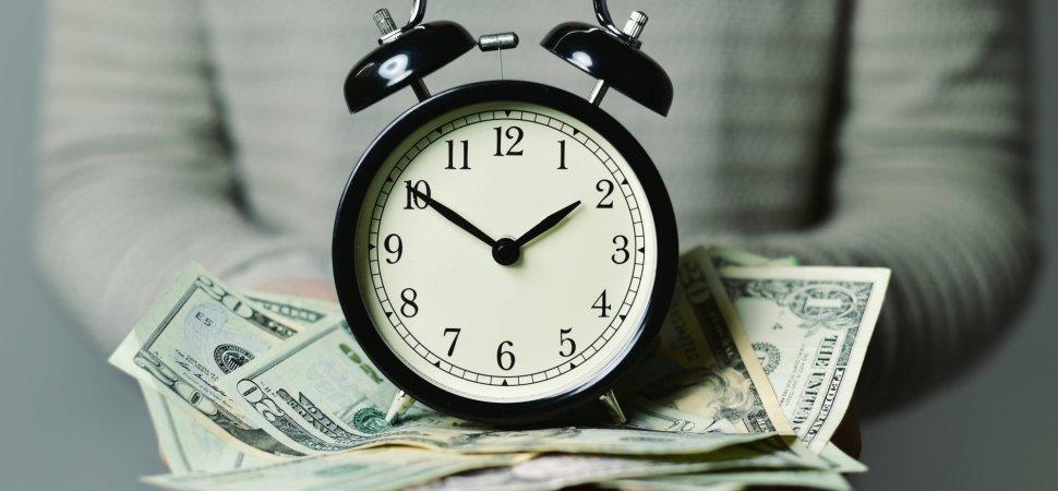 la libertà finanziaria si misura con l'orologio