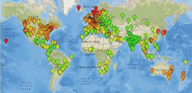 arbitraggio geografico mappa