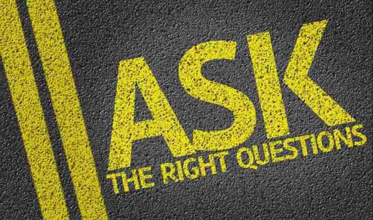il costo dell'inazione - le giuste domande