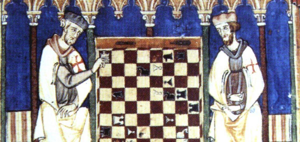 L'invenzione degli scacchi e dell'interesse composto
