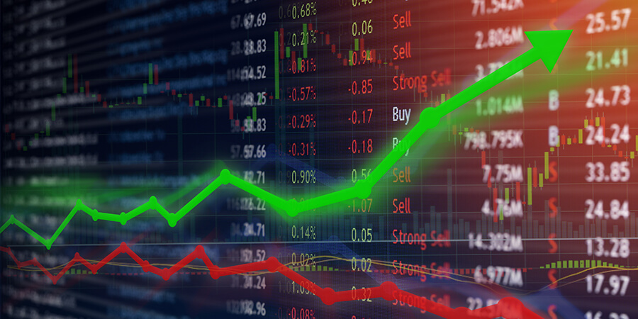 recupero record dei mercati finanziari